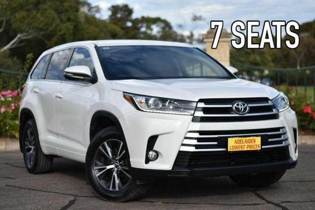Used Toyota Kluger GSU55R GX AWD Enfield, 2017 Toyota Kluger GSU55R GX AWD White 8 Speed Sports Automatic Wagon