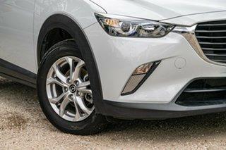 2018 Mazda CX-3 DK2W7A Maxx SKYACTIV-Drive FWD Sport Silver 6 Speed Sports Automatic Wagon.