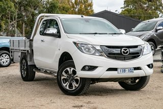 2016 Mazda BT-50 UR0YF1 XTR Freestyle White 6 Speed Sports Automatic Utility.