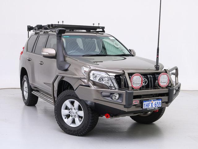 Used Toyota Landcruiser Prado GDJ150R MY16 GXL (4x4), 2016 Toyota Landcruiser Prado GDJ150R MY16 GXL (4x4) Bronze 6 Speed Automatic Wagon