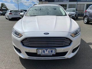 2017 Ford Mondeo MD Ambiente White Sports Automatic Dual Clutch Wagon.