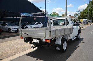 2011 Mitsubishi Triton MN MY11 GLX (4x4) White 4 Speed Automatic 4x4 Cab Chassis.