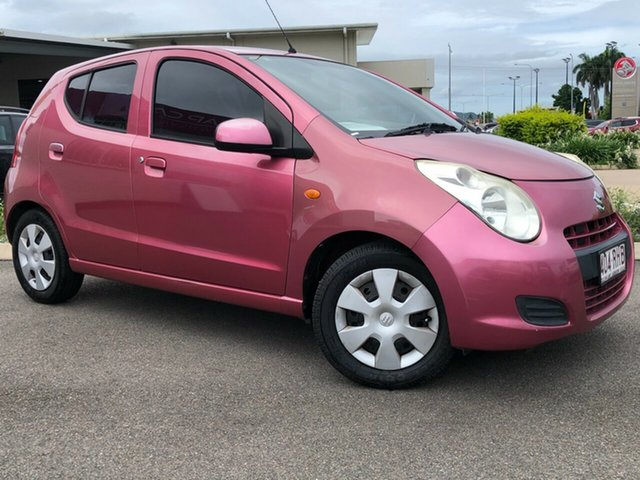 Used Suzuki Alto GF GL Garbutt, 2010 Suzuki Alto GF GL Pink 5 Speed Manual Hatchback