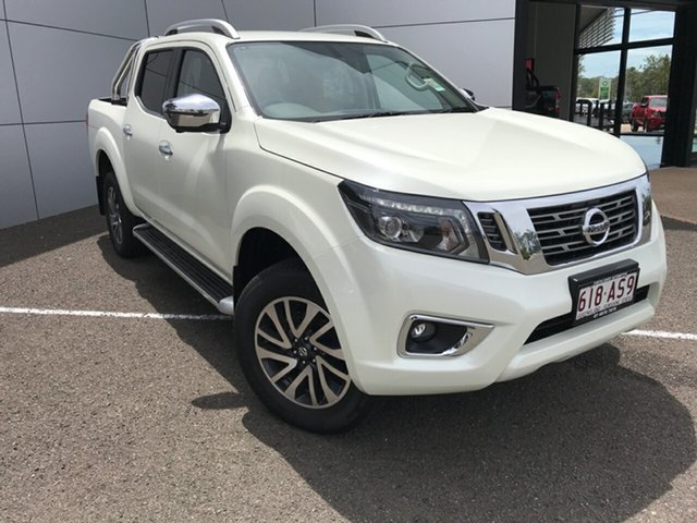 Demo Nissan Navara D23 S4 MY20 ST-X South Gladstone, 2020 Nissan Navara D23 S4 MY20 ST-X White 6 Speed Manual Utility
