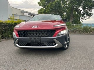 2020 Hyundai Kona Os.v4 MY21 Highlander 2WD Pulse Red & Black Roof 8 Speed Constant Variable Wagon
