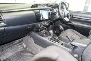 2016 Toyota Hilux GUN126R SR (4x4) Silver Sky 6 Speed Automatic Dual Cab Utility