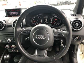 2011 Audi A1 8X MY11 Sport S Tronic White 7 Speed Sports Automatic Dual Clutch Hatchback