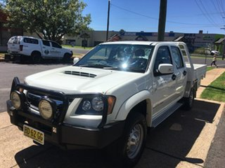 2009 Holden Colorado RC LX White Manual.
