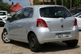 2007 Toyota Yaris NCP91R YRS Quicksilver 4 Speed Automatic Hatchback.