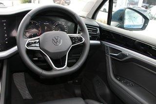 2020 Volkswagen Touareg CR MY21 210TDI Tiptronic 4MOTION Elegance Aquamarine Blue Metallic 8 Speed