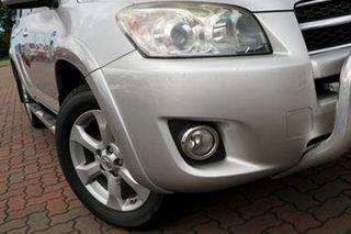 2008 Toyota RAV4 GSA33R MY08 SX6 Silver 5 Speed Automatic SUV.
