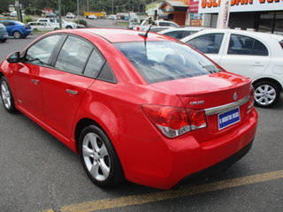 2011 Holden Cruze JH SRi V Red 6 Speed Automatic Sedan.