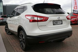 2017 Nissan Qashqai J11 TI White 1 Speed Constant Variable SUV.