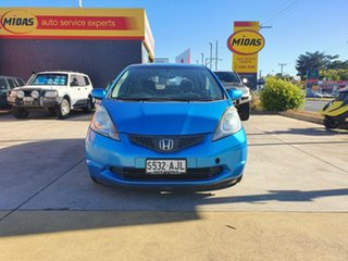 2010 Honda Jazz GE MY10 GLi Blue 5 Speed Automatic Hatchback.