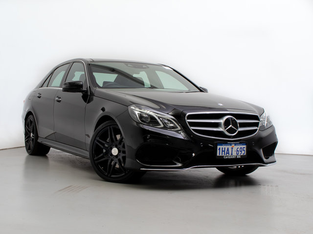 Used Mercedes-Benz E400 212 MY13 , 2013 Mercedes-Benz E400 212 MY13 Black 7 Speed Automatic Sedan