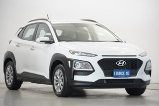 2019 Hyundai Kona OS.2 MY19 Go 2WD White 6 Speed Sports Automatic Wagon.