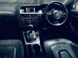2012 Audi A4 B8 8K MY13 Multitronic Silver 8 Speed Constant Variable Sedan.