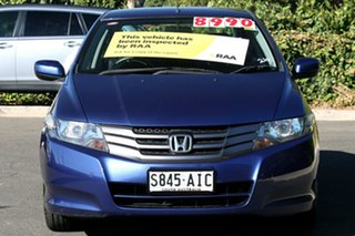 2010 Honda City GM MY10 VTi Deep Lapis Blue 5 Speed Manual Sedan