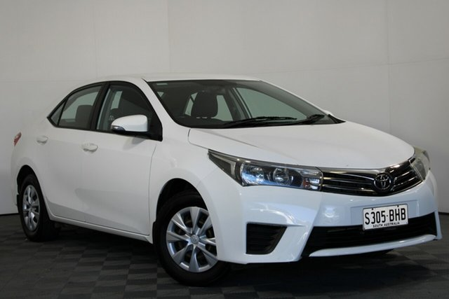Used Toyota Corolla ZRE172R Ascent S-CVT Wayville, 2015 Toyota Corolla ZRE172R Ascent S-CVT White 7 Speed Constant Variable Sedan