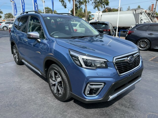 New Subaru Forester S5 MY21 Hybrid S CVT AWD Glenelg, 2021 Subaru Forester S5 MY21 Hybrid S CVT AWD Horizon Blue 7 Speed Constant Variable Wagon Hybrid