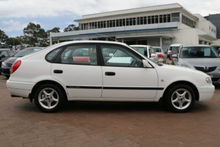 2000 Toyota Corolla AE112R Ascent Seca White 4 Speed Automatic Liftback