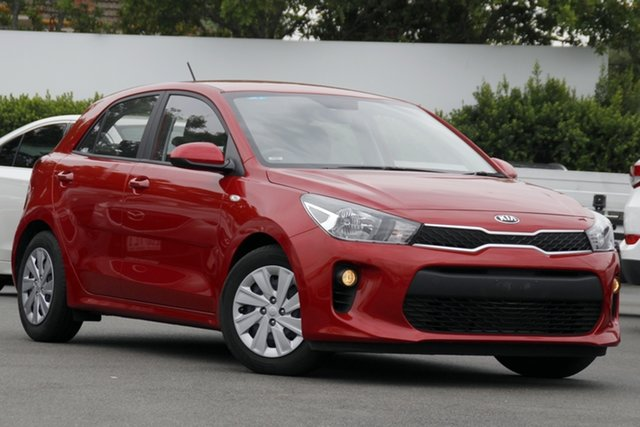 Used Kia Rio YB MY20 S Mount Gravatt, 2020 Kia Rio YB MY20 S Red 4 Speed Sports Automatic Hatchback