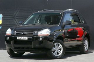 2010 Hyundai Tucson JM MY09 City SX Black 4 Speed Sports Automatic Wagon.