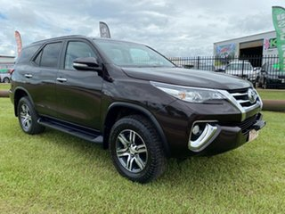2016 Toyota Fortuner GXL Black 4 Speed Auto Active Select Wagon.