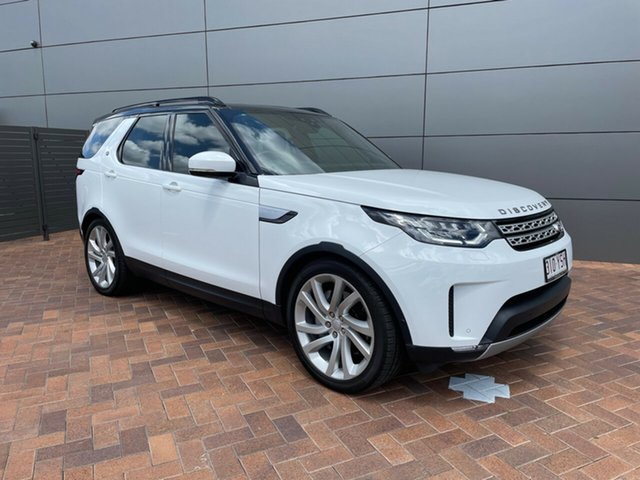 Used Land Rover Discovery Series 5 L462 MY18 TD6 HSE Toowoomba, 2018 Land Rover Discovery Series 5 L462 MY18 TD6 HSE Fuji White 8 Speed Sports Automatic Wagon