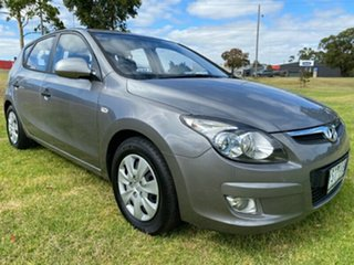 2011 Hyundai i30 FD MY11 SX Silver 6 Speed Manual Hatchback.