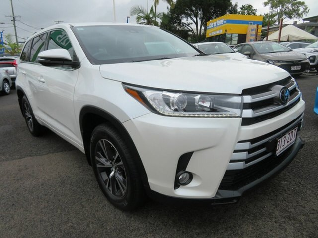 Used Toyota Kluger GSU55R GX AWD Mount Gravatt, 2019 Toyota Kluger GSU55R GX AWD White 8 Speed Sports Automatic Wagon