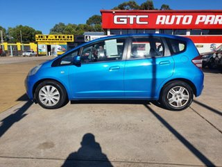 2010 Honda Jazz GE MY10 GLi Blue 5 Speed Automatic Hatchback