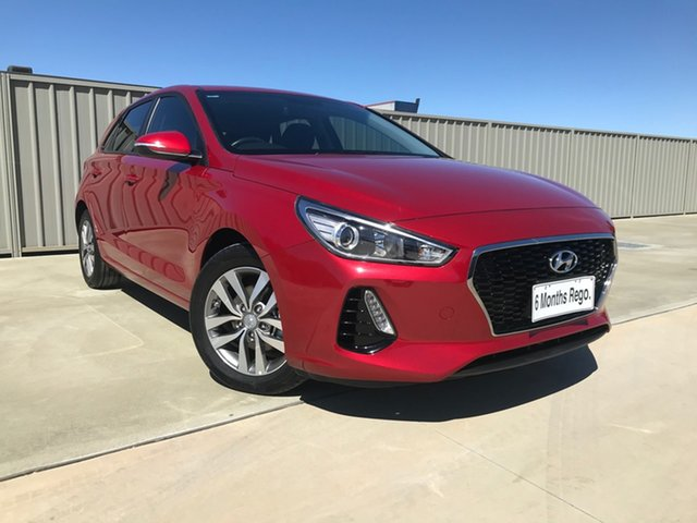 Used Hyundai i30 PD2 MY19 Active Echuca, 2019 Hyundai i30 PD2 MY19 Active Red 6 Speed Sports Automatic Hatchback