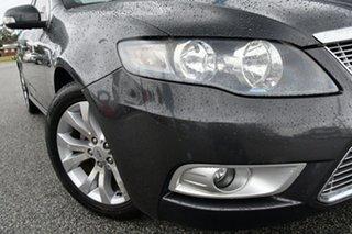 2009 Ford Falcon FG G6E Black 6 Speed Sports Automatic Sedan.