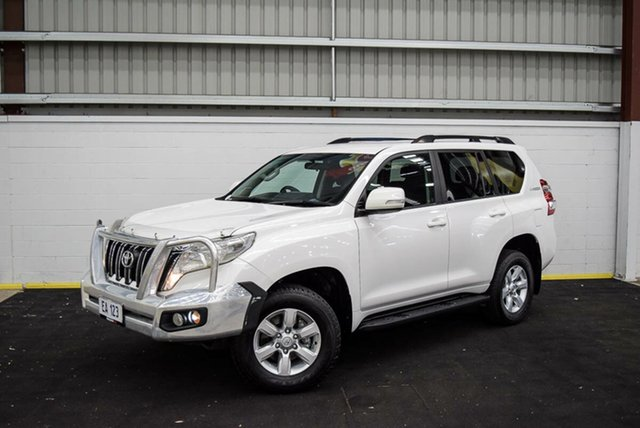 Used Toyota Landcruiser Prado GDJ150R GXL Canning Vale, 2017 Toyota Landcruiser Prado GDJ150R GXL White 6 Speed Sports Automatic Wagon