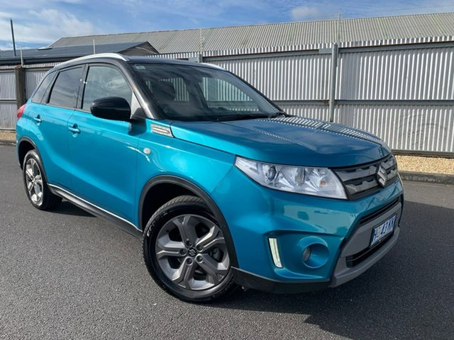 Used Suzuki Vitara LY RT-S 2WD Moonah, 2018 Suzuki Vitara LY RT-S 2WD Blue 6 Speed Sports Automatic Wagon