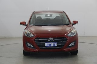 2015 Hyundai i30 GD3 Series II MY16 Active X Fiery Red 6 Speed Manual Hatchback.