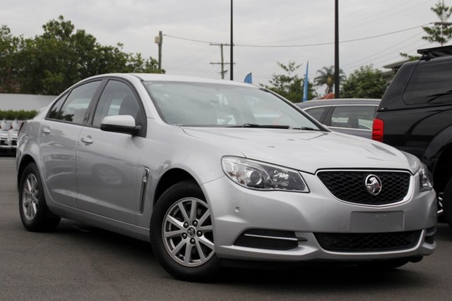Used Holden Commodore VF II MY16 Evoke Mount Gravatt, 2015 Holden Commodore VF II MY16 Evoke Silver 6 Speed Sports Automatic Sedan