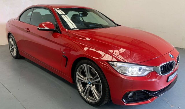 Used BMW 4 Series F33 428i Sport Line Newcastle West, 2015 BMW 4 Series F33 428i Sport Line Red 8 Speed Sports Automatic Convertible