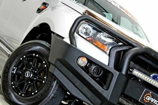 2017 Ford Ranger PX MkII MY17 Update XL 2.2 Hi-Rider (4x2) Silver 6 Speed Automatic Crew Cab Pickup.