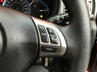 2011 Subaru Forester S3 MY11 X AWD Red 5 Speed Manual Wagon