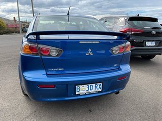 2010 Mitsubishi Lancer CJ MY11 SX Blue 5 Speed Manual Sedan.