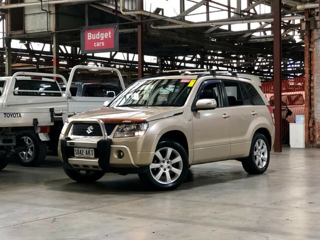 Used Suzuki Grand Vitara JB MY09 Prestige Mile End South, 2011 Suzuki Grand Vitara JB MY09 Prestige Gold 5 Speed Automatic Wagon