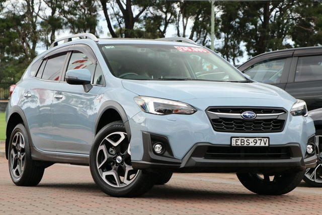Pre-Owned Subaru XV G5X MY19 2.0i-S Lineartronic AWD Warwick Farm, 2019 Subaru XV G5X MY19 2.0i-S Lineartronic AWD Sky Blue 7 Speed Constant Variable SUV