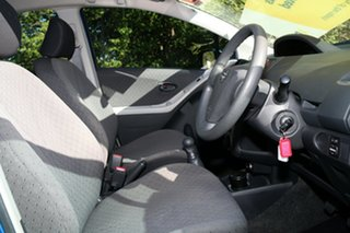 2009 Toyota Yaris NCP90R MY10 YR Blue Mica Metallic 5 Speed Manual Hatchback