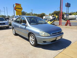 2000 Kia Rio LS Grey 4 Speed Automatic Hatchback.