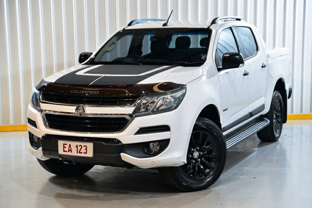 Used Holden Colorado RG MY17 Z71 Pickup Crew Cab Hendra, 2017 Holden Colorado RG MY17 Z71 Pickup Crew Cab White 6 Speed Sports Automatic Utility
