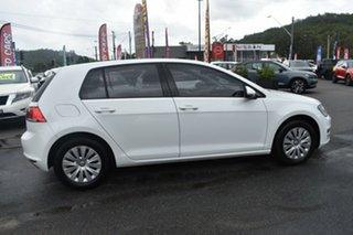 2014 Volkswagen Golf VII MY15 90TSI White 6 Speed Manual Hatchback.