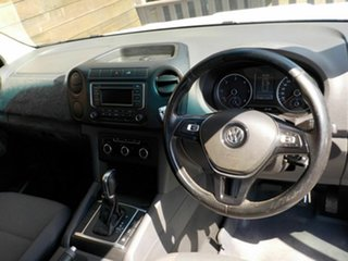 2015 Volkswagen Amarok 2H MY15 TDI420 4Motion Perm White 8 Speed Automatic Cab Chassis