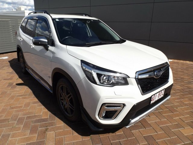 Used Subaru Forester S5 MY19 2.5i-S CVT AWD Toowoomba, 2019 Subaru Forester S5 MY19 2.5i-S CVT AWD White 7 Speed Constant Variable Wagon